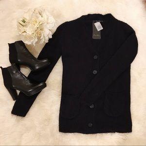 Zara Black Oversized Cardigan. NWT.